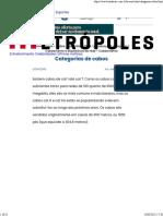Categorias de cabos - Hardware.com.br