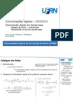 DCO1013 Banda Base Transmisso M-Aria e Cdigos de Linha - 2