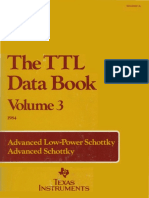 Texas Instruments - TTL DataBook Vol3