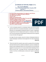 V_Political Science (Major) - International Relations