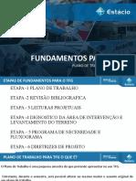 PLANO DE TRABAHO PARA TFG