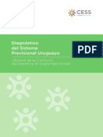 Informe de Diagnóstico del Sistema Previsional Uruguayo.