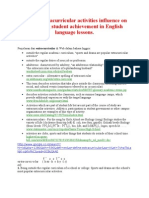 Penjelasan dari extracurricular di Web dalam bahasa Inggris  annnnnaaaaa