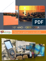 GPT 1 - Cartas Topográficas e Geológicas