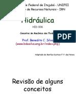 HID006 - Revisão de Mecânica dos fluidos