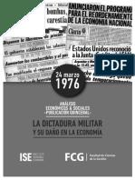 Informe ISE N° 14  - La dictadura militar y el daño en la economía.