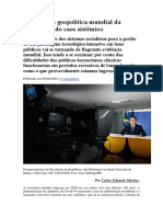 O Brasil na geopolítica mundial da Covid