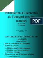 cours economie entreprise 2