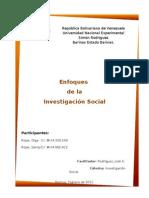 enfoques de la investigación social