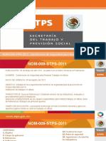 Presentación NOM-009-STPS-2011