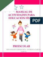 Manual de Actividades Para La Sesic3b3n de Educacic3b3n Fc3adsica Preescolar