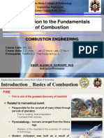 ME 322_Combustion Engineering_Introduction to the Fundamentals of Combustion