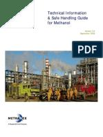 methanol manual