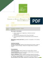 Agenda 4th KYIV SECURITY FORUM