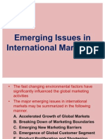 Emerging Issues in International Marketing-17.02