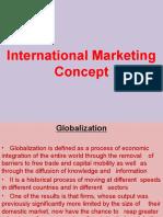 International Marketing Concept