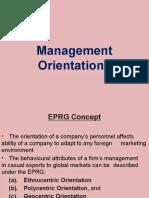Management Orientations