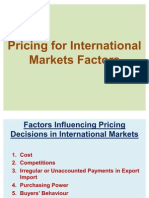 Pricing for International Markets Factors-05.02