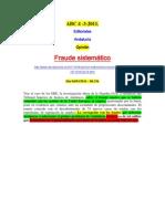 Editorial ABC 4-3-2011 Fraude Sistematico-V