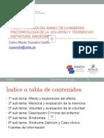 SEMANA 3_Psicopatologia Del Afecto, Memoria , Voluntad y Sindromes