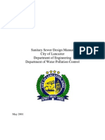 Sanitary Sewer Design Manual