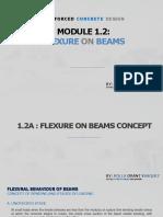 Module 1.2 - Flexure in Beams