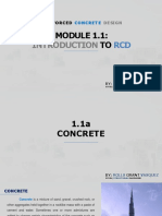 Module 1.1 - Introduction to RCD