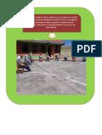 ACCIONES QUE SE ESTA TOMANDOSE EN LA I.E.P. N° 72685 DE TUPAC AMARU II