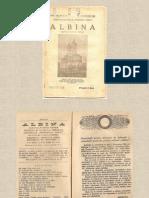 """4 Reviste """"Albina""""- din 1926, 1927 si 1928 (2)"""