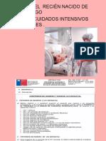 ADMICION DEL RN DE ALTO RIESGO