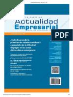 Actualidad Empresarial - Edición N° 374 1RA QUINCENA 05-2017