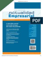 Actualidad Empresarial - Edición N° 377 2DA QUINCENA 06-2017