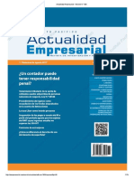 Actualidad Empresarial - Edición N° 380 1RA QUINCENA 08-2017