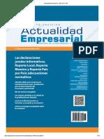 Actualidad Empresarial - Edición N° 384 2DA QUINCENA 08-2017