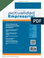 Actualidad Empresarial - Edición N° 386 2DA QUINCENA 08-2017