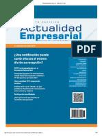 Actualidad Empresarial - Edición N° 388 2DA QUINCENA 08-2017