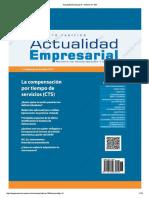 Actualidad Empresarial - Edición N° 382 2DA QUINCENA 08-2017
