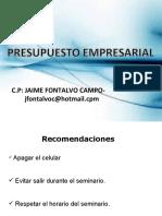 PRESUPUESTO EMPRESARIAL-C.U.L 2021-1