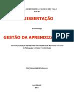 cópia de Currículo, educação à distância e cultura do estudo autônomo em curso de Pedagogia