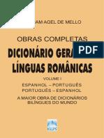 Dicionário Geral Das Línguas Românicas - Espanhol-Português