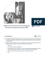 Fuentes de financiación - ESFL