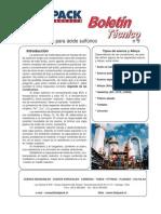 Aceros Aleados para acido sulfurico