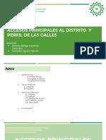Accesos y Perfil de Calles Rimac (1)