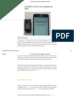 Controlando ESP32 via WiFi com validação por MACADRESS