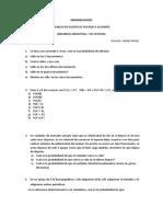 TALLER PROBABILIDADES 2ºC EI 2020