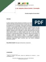 NETTO, Carolina A. F. Letramento para as relações étnico-raciais