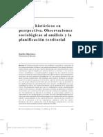 Martínez, Emilio. Centros históricos en perspectiva. Observaciones sociológicas al análisis y la planificación territorial