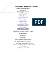 Design Guidelines for Fouling Service Rev In