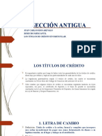 LOS TITULOS DE CRÉDITO EN PARTICULAR