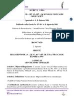 Decreto-12-2016-Reglamento-de-la-Ley-917-de-Zonas-Francas